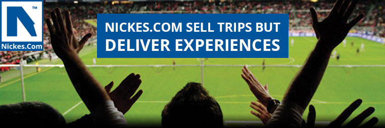 We sell trips but deliver experiences